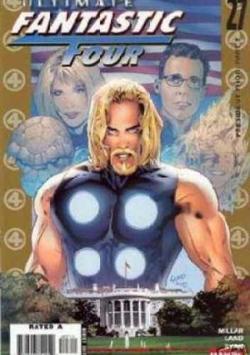 Okładka książki Ultimate Fantastic Four 27