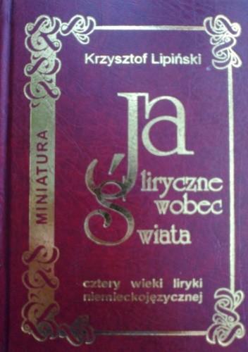 Okładka książki Ja liryczne wobec świata