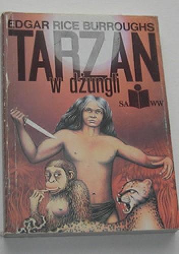 Okładka książki Tarzan w dżungli