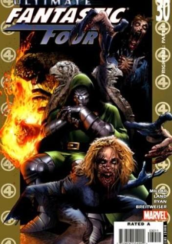 Okładka książki Ultimate Fantastic Four #30