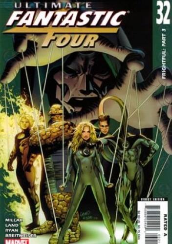 Okładka książki Ultimate Fantastic Four #32