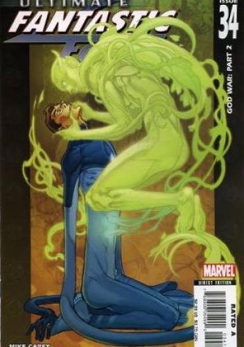 Okładka książki Ultimate Fantastic Four #34