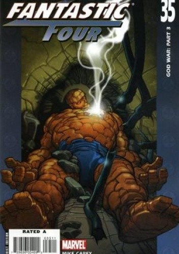 Okładka książki Ultimate Fantastic Four #35