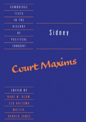 Okładka książki Court Maxims
