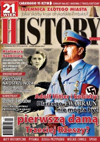 Okładka książki 21.Wiek History Revue nr 03/2013 r.