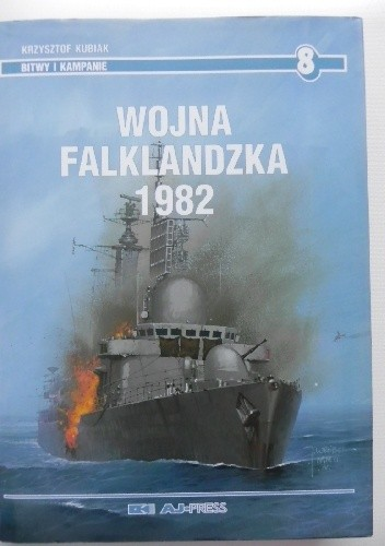 Okładka książki Wojna falklandzka 1982