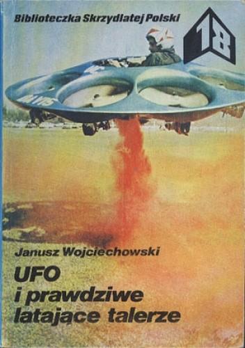 Okładka książki UFO i prawdziwe latające talerze