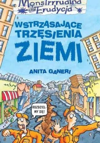 Okładka książki Wstrząsające trzęsienia ziemi