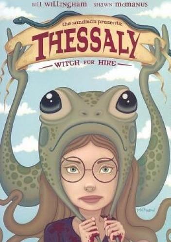 Okładka książki Thessaly: Witch for Hire
