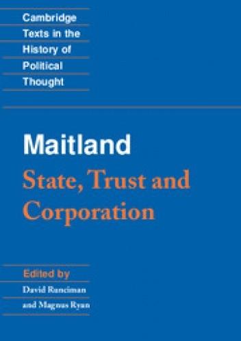 Okładka książki State, Trust and Corporation