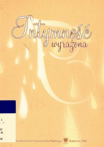 Okładka książki Intymność wyrażona