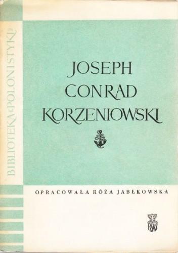 Okładka książki Joseph Conrad Korzeniowski