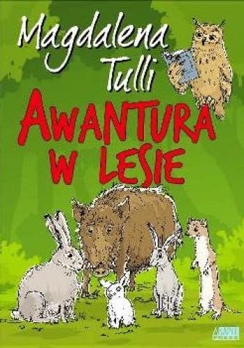 Okładka książki Awantura w lesie