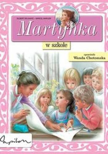 Okładka książki Martynka w szkole
