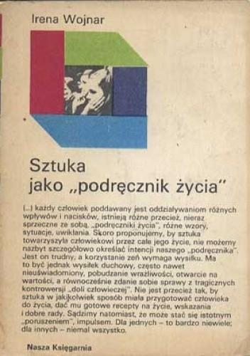 Okładka książki Sztuka jako