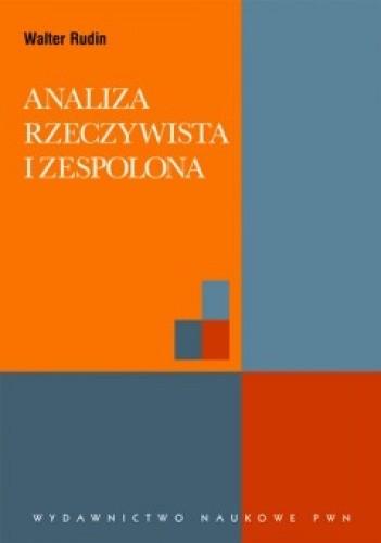 Okładka książki Analiza rzeczywista i zespolona