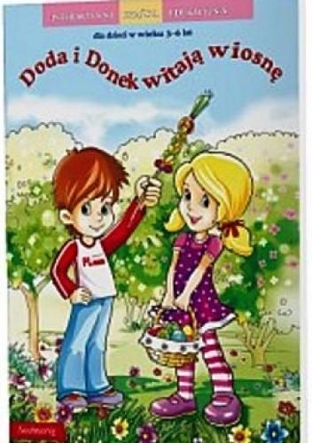 Okładka książki Doda i Donek witają wiosnę.