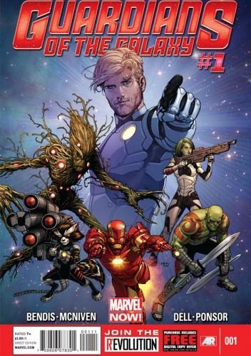 Okładka książki Guardians of the Galaxy Vol 3 #1