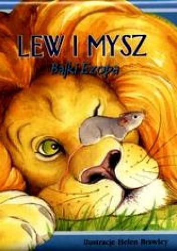 Okładka książki Lew i mysz