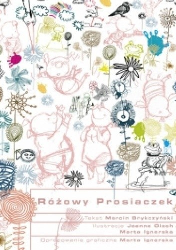 Okładka książki Różowy Prosiaczek