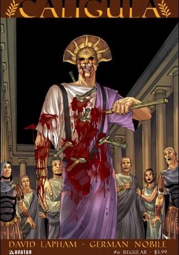 Okładka książki Caligula #6