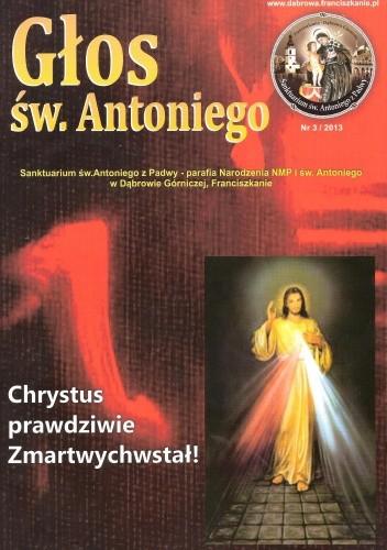 Okładka książki Głos św. Antoniego 3/2013