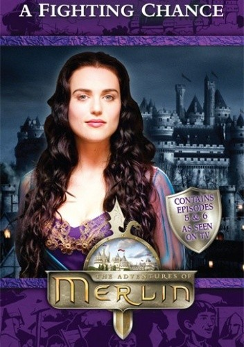 Okładka książki Merlin: A Fighting Chance