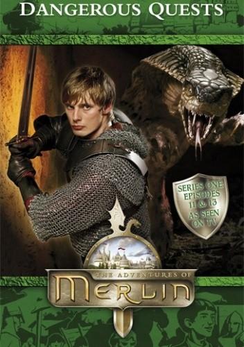 Okładka książki Merlin: Dangerous Quests