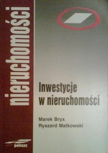 Okładka książki Inwestycje w nieruchomości