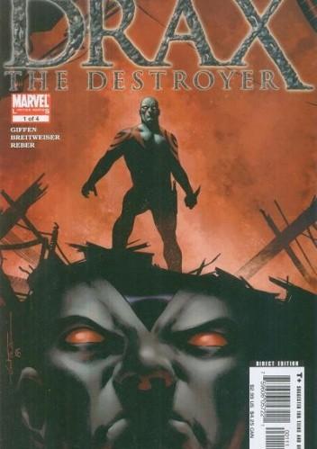 Okładka książki Drax the Destroyer #1