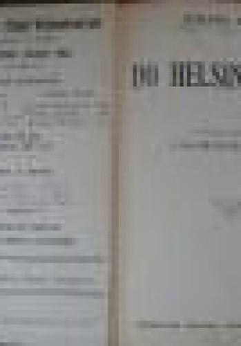 Okładka książki Do Helsingforsu