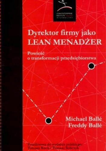 Okładka książki Dyrektor firmy jako Lean Menadżer