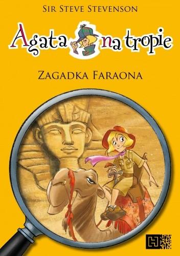 Okładka książki Agata na tropie. Zagadka faraona