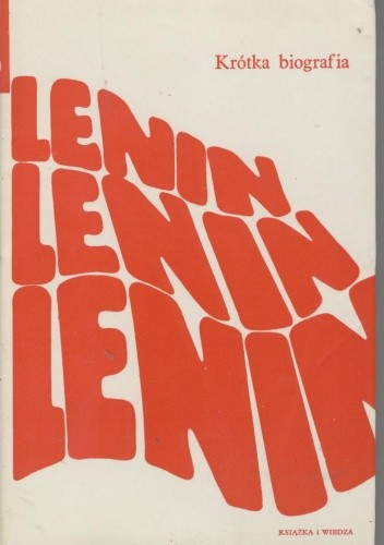 Okładka książki Lenin. Krótka biografia