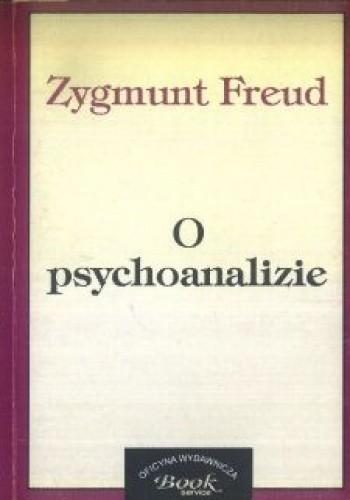 Okładka książki O psychoanalizie