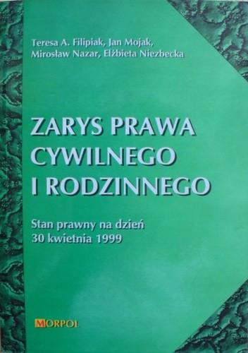 Okładka książki Zarys prawa cywilnego i rodzinnego