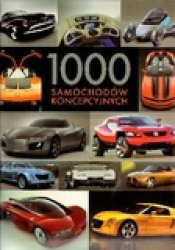 Okładka książki 1000 samochodów koncepcyjnych