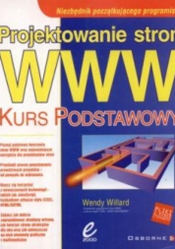 Okładka książki Projektowanie stron WWW. Kurs podstawowy