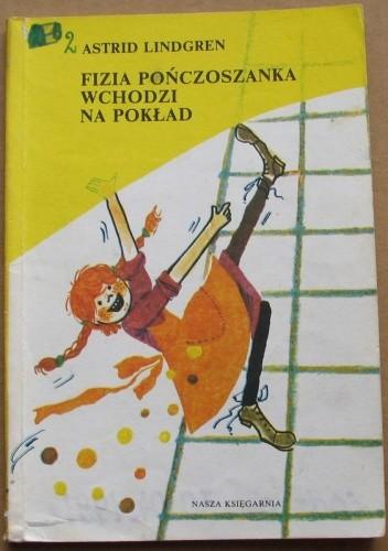 Okładka książki Fizia Pończoszanka wchodzi na pokład