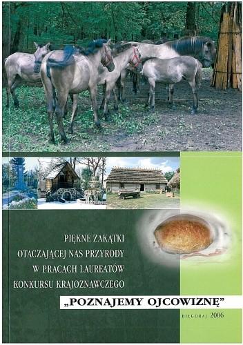 Okładka książki Piękne zakątki otaczającej nas przyrody w pracach laureatów konkursu krajoznawczego