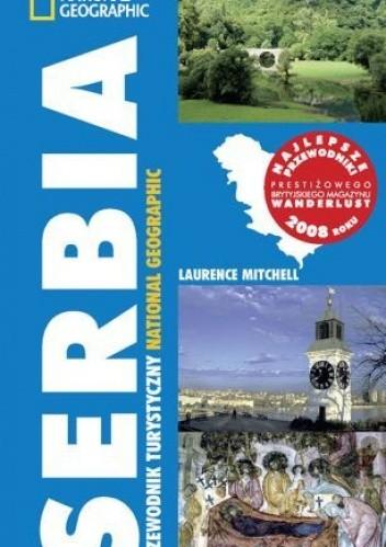 Okładka książki Serbia Przewodnik turystyczny National Geographic