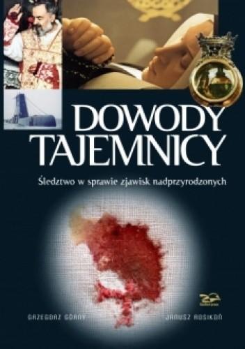 Okładka książki Dowody Tajemnicy