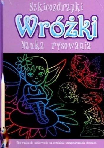Okładka książki Szkicozdrapki. Wróżki