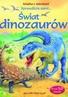 Świat dinozaurów. Książka z okienkami