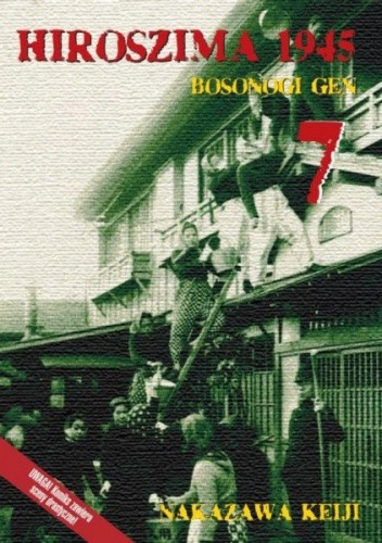 Okładka książki Hiroszima 1945. Bosonogi Gen 7