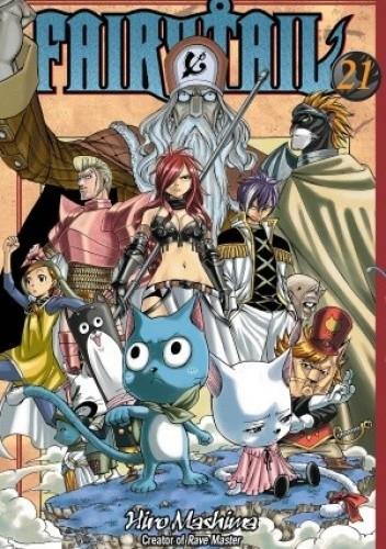 Okładka książki Fairy Tail Volume 21