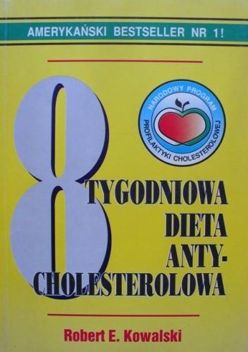 Okładka książki 8 tygodniowa dieta antycholesterolowa