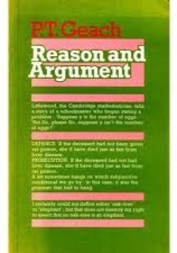 Okładka książki Reason and Argument