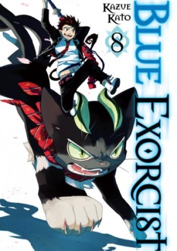 Okładka książki Blue Exorcist volume 08