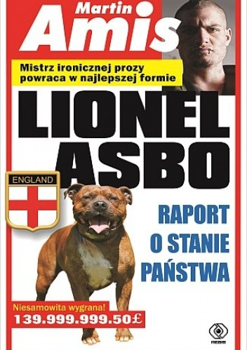 Okładka książki Lionel Asbo. Raport o stanie państwa